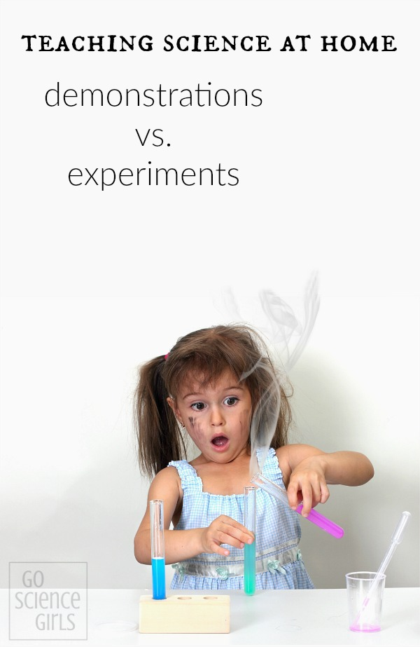 Teaching science at home: demonstrations vs experiments