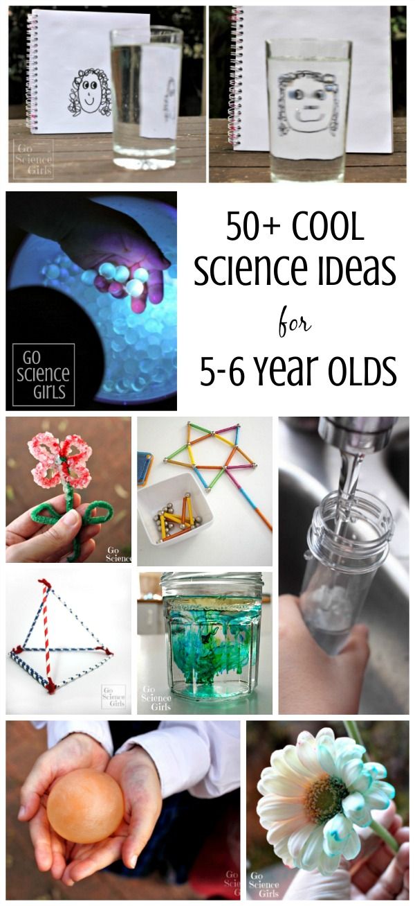 Cool Science Ideas for 5-6 Year Olds