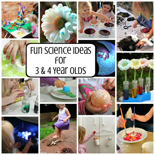 3-4 Year Olds – Go Science Girls