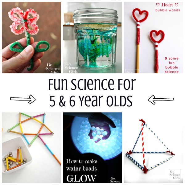 Fun Science for 5 & 6 Year Olds