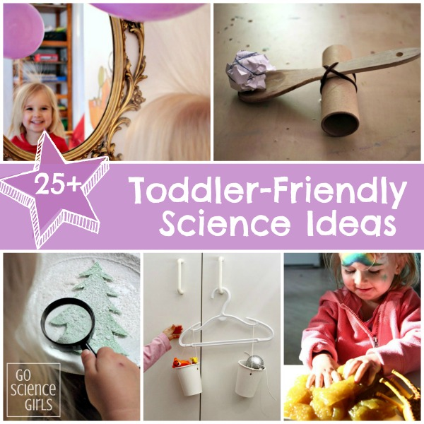 Toddler Friendly Science Ideas