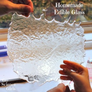 Homemade Edible Glass