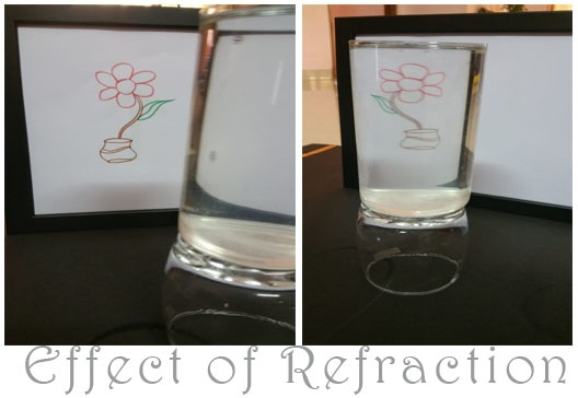 STEAM activity - playing with refraction