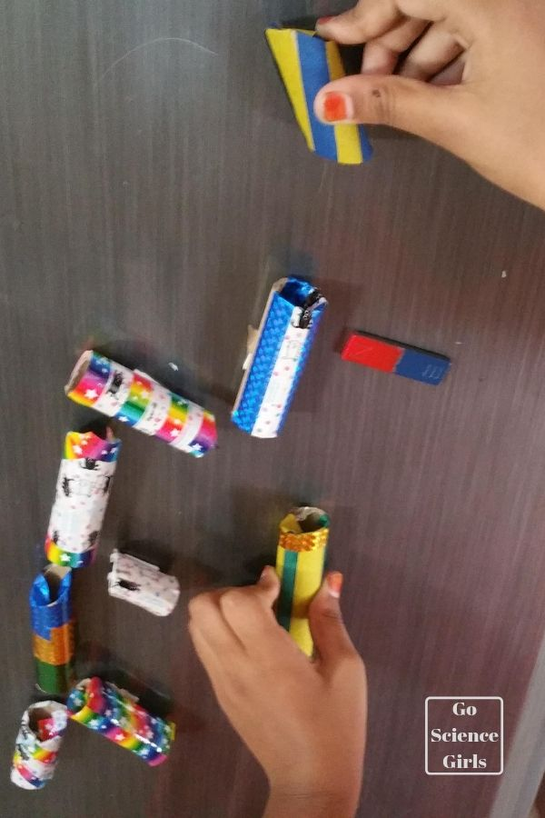 Make a magnetic marble run