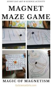 Four Magnet Maze Designs
