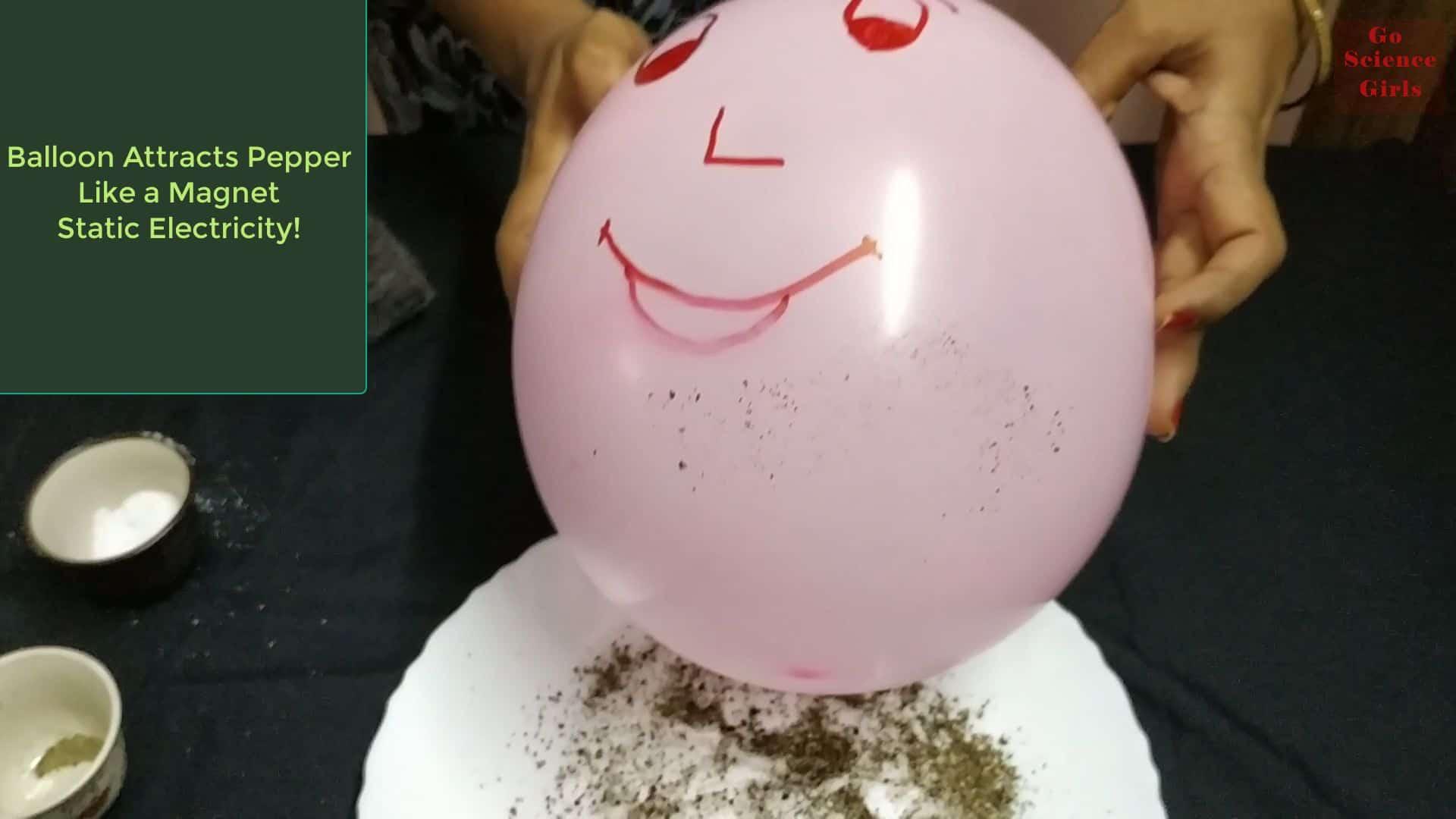 Ballon Attracts Pepper