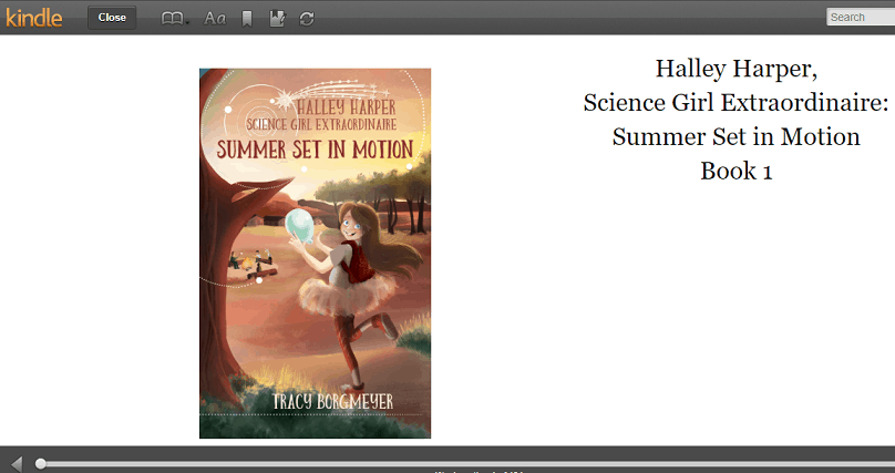 Book Review of Halley Harper; Science Girl Extraordinare: Summer Set In Motion
