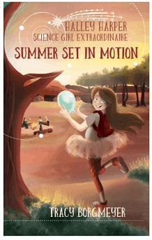 Halley Harper - Science Girl Extraordinaire summer set in motion book review