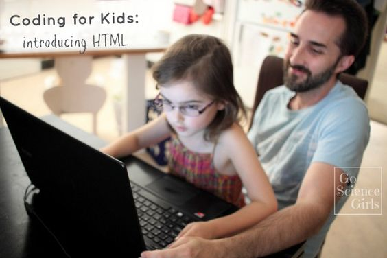 Coding for Kids - Introducing HTML to 5 year olds. (Computer science)