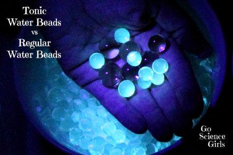 Tonic Water Beads vs Regular Water Beads