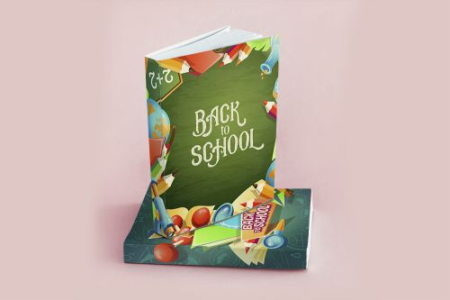 Back To School Book Template