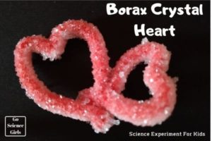 Crystal Heart go science girls