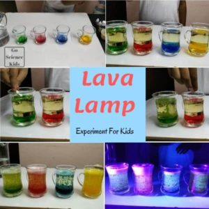 Lava Lamp For Science Loving Kids