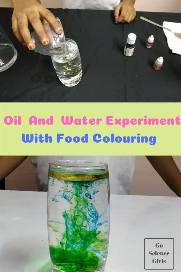 Density Science for Kids : Create Fireworks in Water & Oil