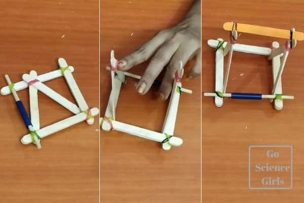 build big catapult structure