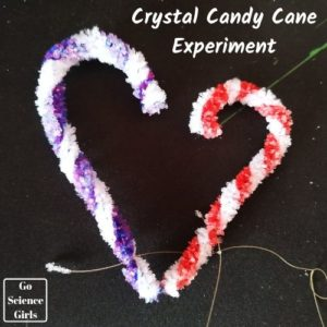 Crystal Candycane Experiment