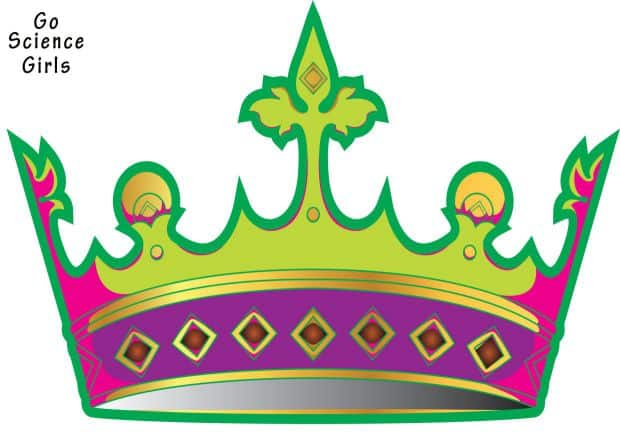 Girl Crown Template