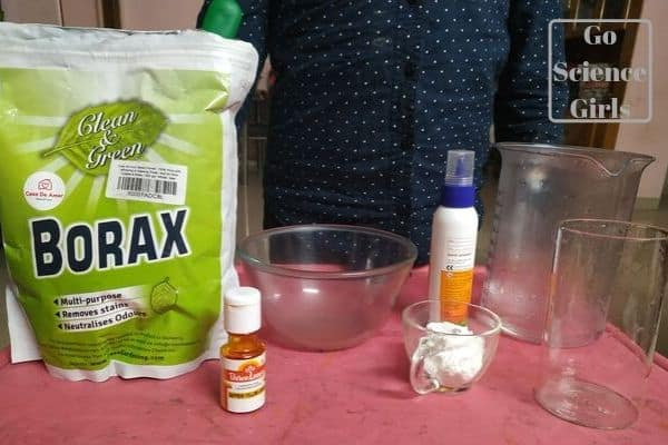 Borax Bouncy Ball - Things We Need