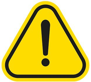 Lab Safety General Warning Symbol