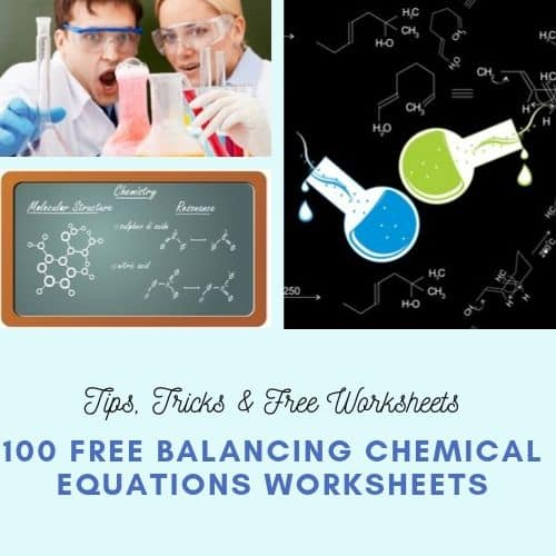 Balancing Chemical Equations Tips Tricks Worksheets