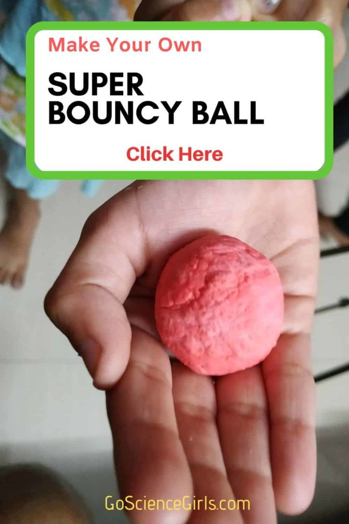 DIY Super Bouncy Ball making using Borax and school glue