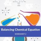 Balancing Chemical Equation Worksheet 2