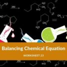Balancing Chemical Equation Worksheet 23