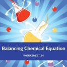 Balancing Chemical Equation Worksheet 34