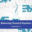 Balancing Chemical Equation Worksheet 95