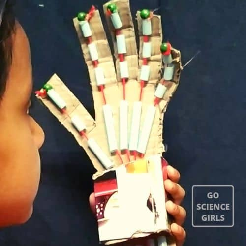 DIY Articulated robotic hand