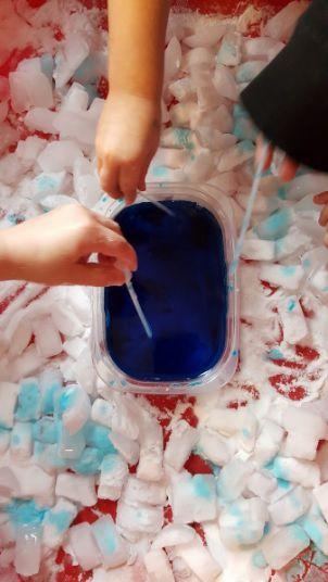 Fizzy Ice - Sensory Activity