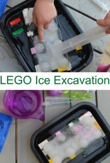 Lego Ice Excavation
