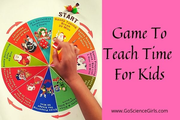 Time Measurement Board Game for Kids