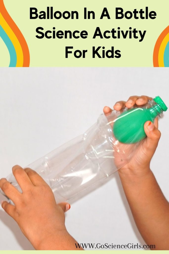 Balloon In A Bottle Science Activity For Kids