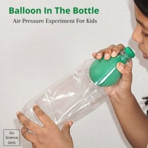 Balloon In The Bottle Experiment for Kids