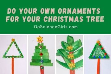 Christmas Trees made out of popsicle sticks