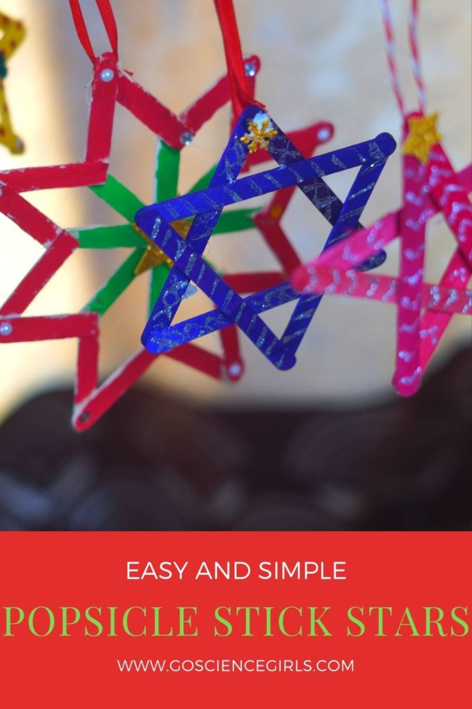 Easy And Simple Popsicle Stick Christmas Crafts
