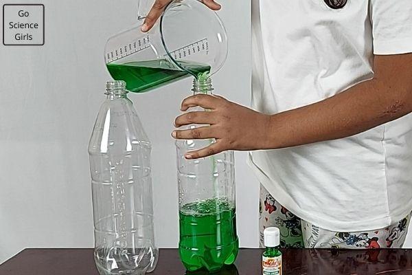 Fill water in the bottle