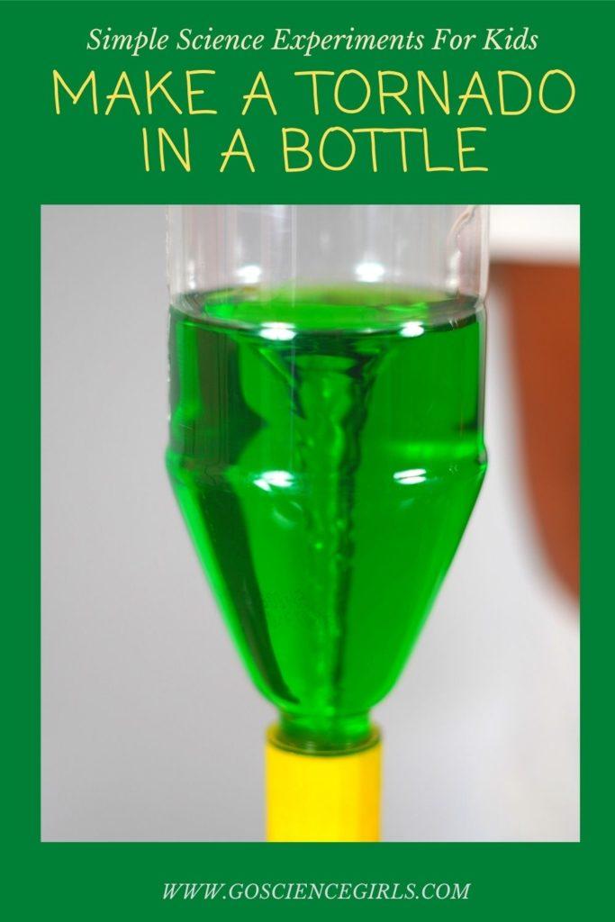 Make a Tornado in a Bottle