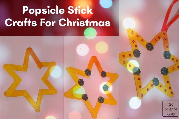 Popsicle Stick Christmas Star Crafts