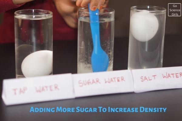 Adding More Sugar To Increase Density