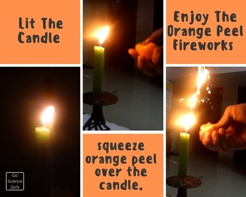 Enjoy The Orange Peel Fireworks