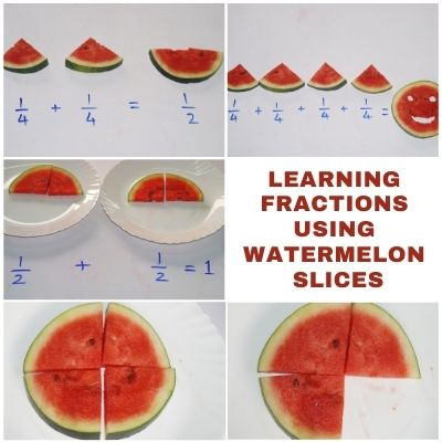 Learning Fractions using Watermelons