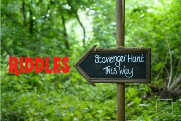 Scavenger Hunt Riddles for Kids