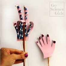 How to make an articulated hand {with cool movable fingers}