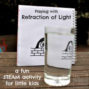 Playing with Refraction of Light: a fun STEAM activity for kids