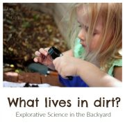 What lives in dirt?