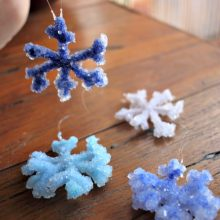 How to make the best Crystal Snowflakes