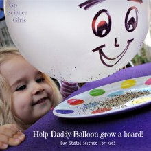 Static Science: Help Daddy Balloon grow a beard