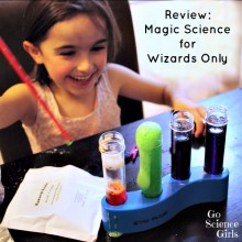 Review: Magic Science for Wizards Only Science Kit